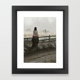 true nature Framed Art Print