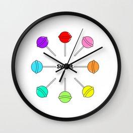 Too Sweet (Lolli Pops 3) Wall Clock