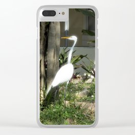 By your house Clear iPhone Case