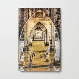 Siuslaw Bridge Metal Print