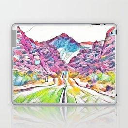 Rainbow Road Laptop & iPad Skin