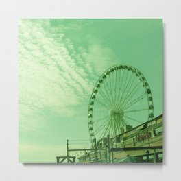 THE GREAT WHEEL AND SKY Metal Print