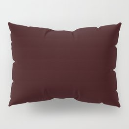 Delirious Place ~ Dark Red-brown Pillow Sham