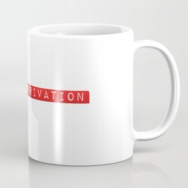 In The Depths Of Sleep Deprivation  Coffee Mug
