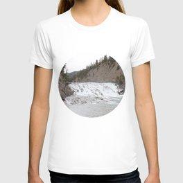 Waterfall in Banff T-shirt