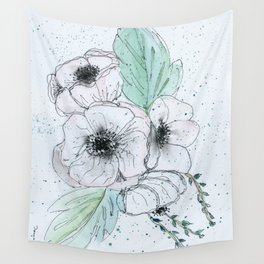 Anemone 2 Wall Tapestry