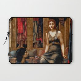 "Edward Burne-Jones ""King Cophetua and the Beggar Maid"" Laptop Sleeve"