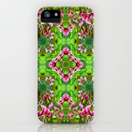 Stargazer Lily Kaleidoscope  iPhone Case