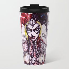 HARLEY X Regular Black & White background Travel Mug
