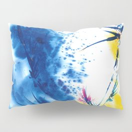 Abstract Blooms by Kathy Morton Stanion Pillow Sham