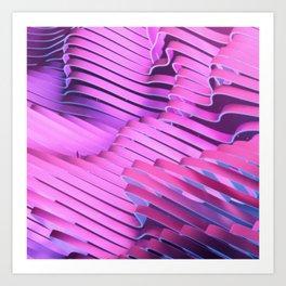 Space Ribbons III Art Print