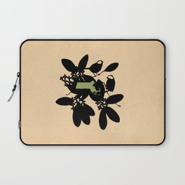 Massachusetts - State Papercut Print Laptop Sleeve