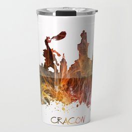 Cracow Poland Travel Mug