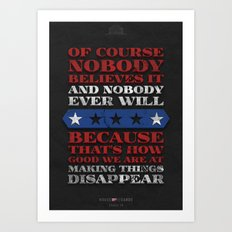 House of Cards - Chapter 49 Art Print