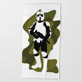 Scout Trooper Beach Towel