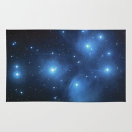 The Pleiades Star Cluster Rug