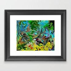 B-Dazzled Framed Art Print