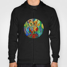 Rainbow Owl Hoody