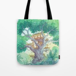 Tree Top Tote Bag