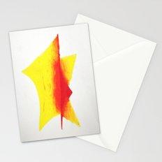Geometric Sun Stationery Cards
