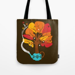 Tea Leaves Tote Bag