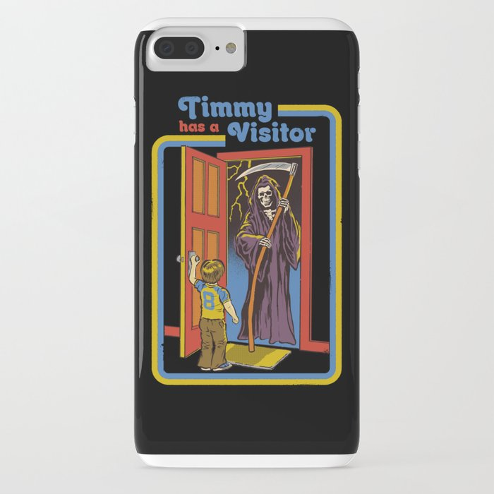 timmy has a visitor iphone case