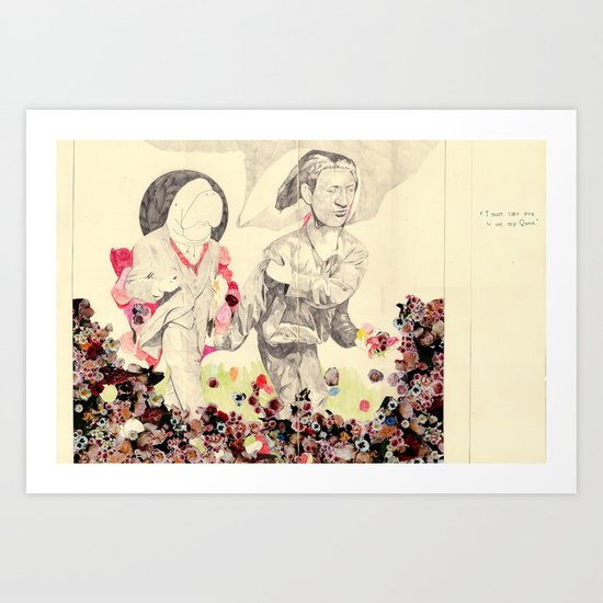 I must take you to see my Queen Art Print
