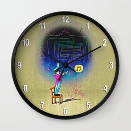Make your own kind of music! Wall Clock
