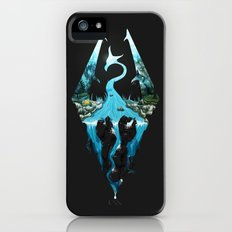 Skyrim ice iPhone (5, 5s) Slim Case