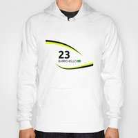 f1 Hoodies featuring F1 Legends - Rubens Barrichello [Brawn] by MS80 Design