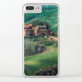 Crete senesi Clear iPhone Case
