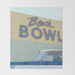 Beach Bowl Throw Blanket