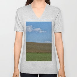 BETWEEN EARTH AND SKY Unisex V-Neck