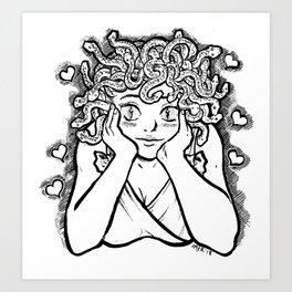 Medusa's Gaze Art Print