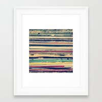 vinyl Framed Art Prints featuring Vinyl  by Laura Ruth