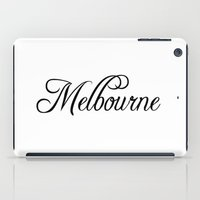 melbourne iPad Cases featuring Melbourne by Blocks & Boroughs