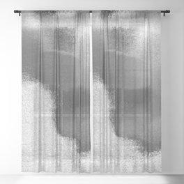 Worn Texture #1 Sheer Curtain