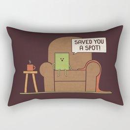 Saved You a Spot Rectangular Pillow