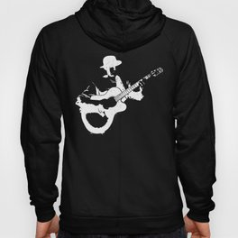 Musician playing Hoody