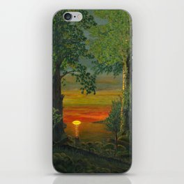 Forest Sunset iPhone Skin