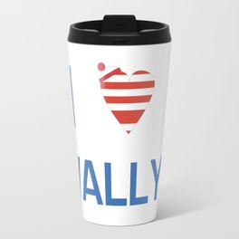 I Heart Wally Travel Mug