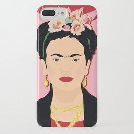 Frida Khalo (Red) | Bad Ass Women Series iPhone Case
