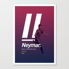 Neymar Barcelona Canvas Print