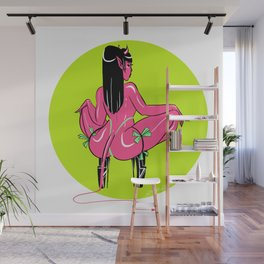 Tip Her Wall Mural