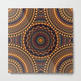 Mandala 187 Metal Print