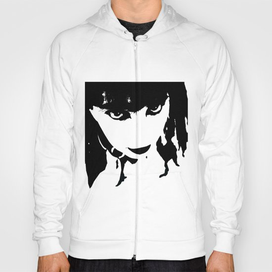 Abstract Face 4 Hoody