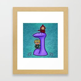 Tessie Framed Art Print