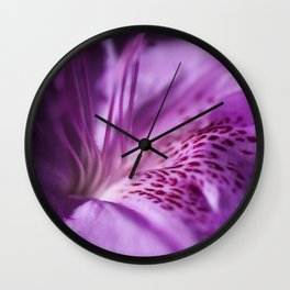The beauty of the lilac Wall Clock