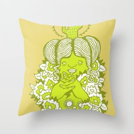 Mamacita Throw Pillow