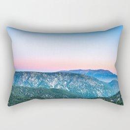 Mountains near Big Bear Lake Rectangular Pillow